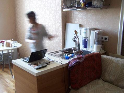 Вид на мойку » Мечта воплощается или кухня \ » Интерьер ...: http://uhouse.ru/foto/1/9/1043/4987--.html