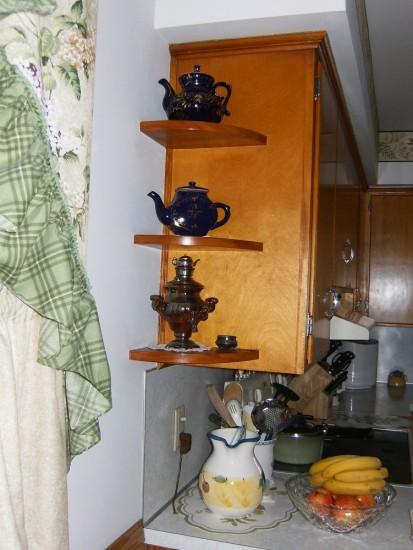 Полка угловая в кухню своими руками фото 83