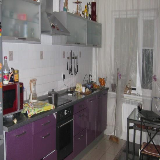 СИРЕНЕВАЯ КУХНЯ - Кухня, Дизайн кухонь.