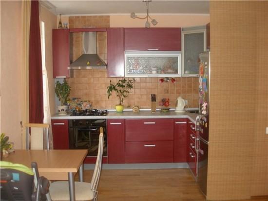 Фото кухни в обычной квартире