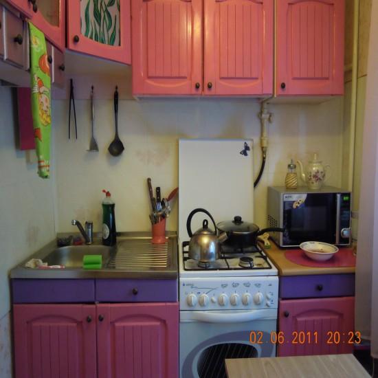 Покрасить кухню своими руками фото