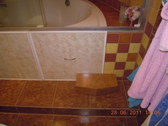 Как сделать ступеньки к ванне