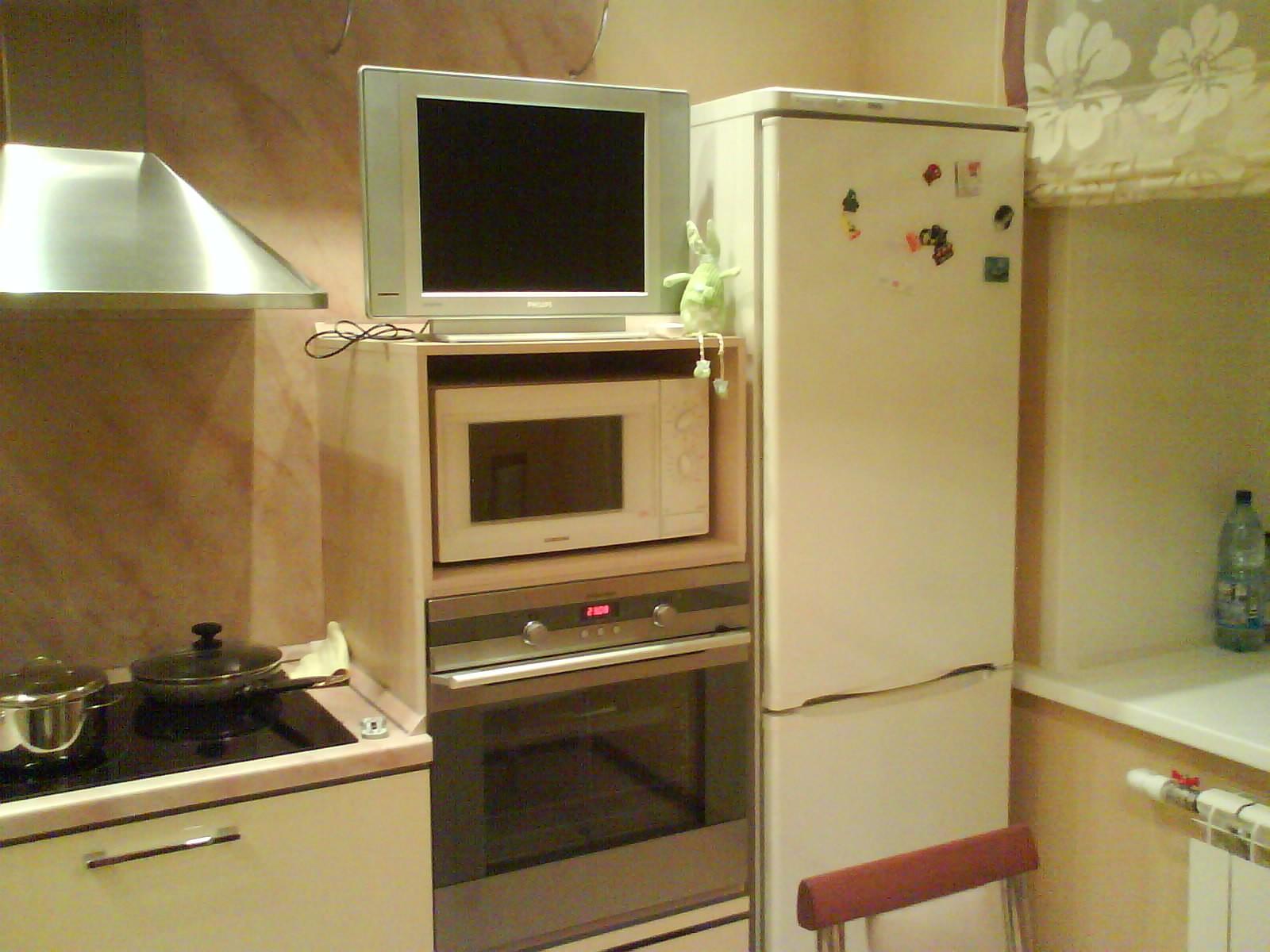 Кухня после ремонта кухня после