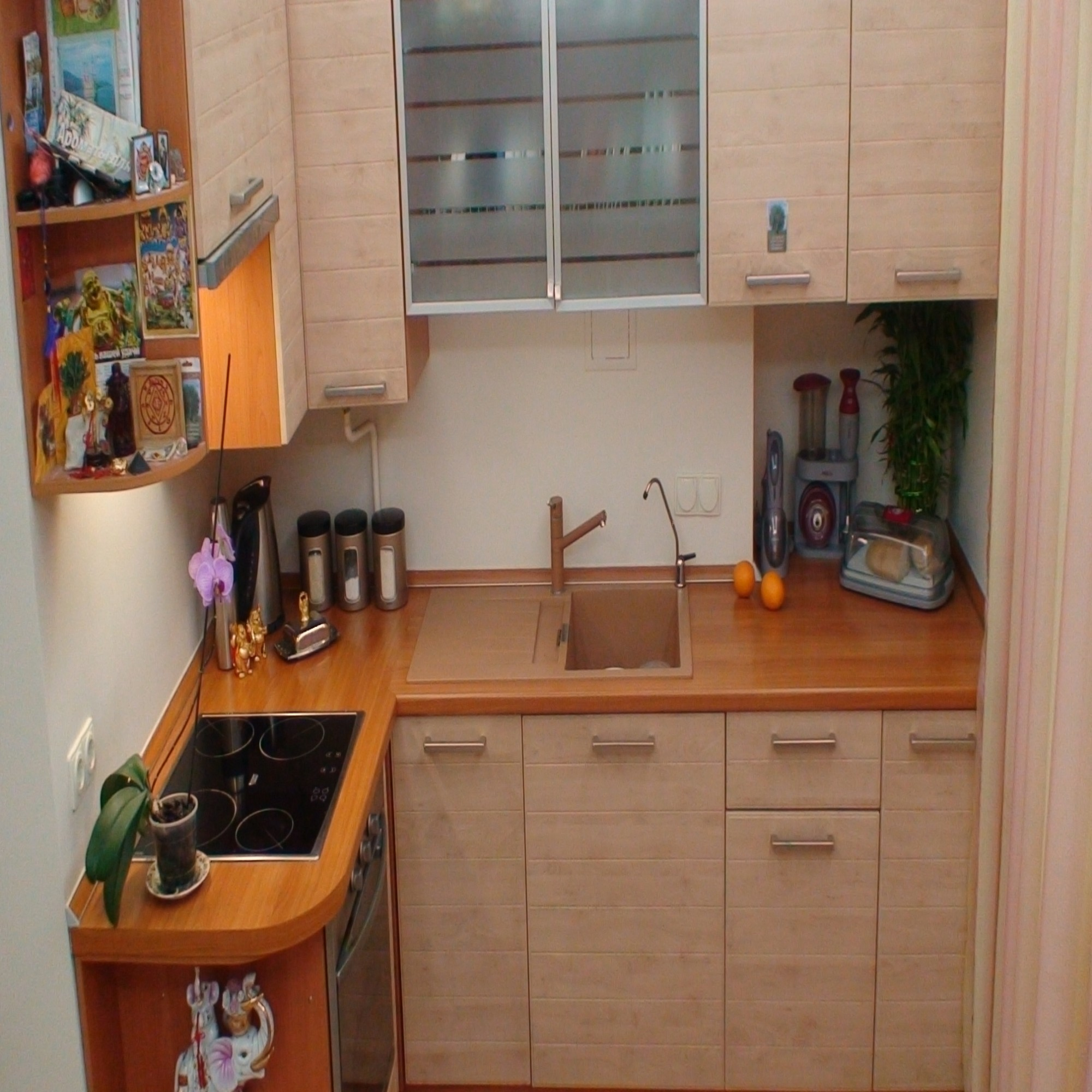 Кухня маленькая своими руками 30