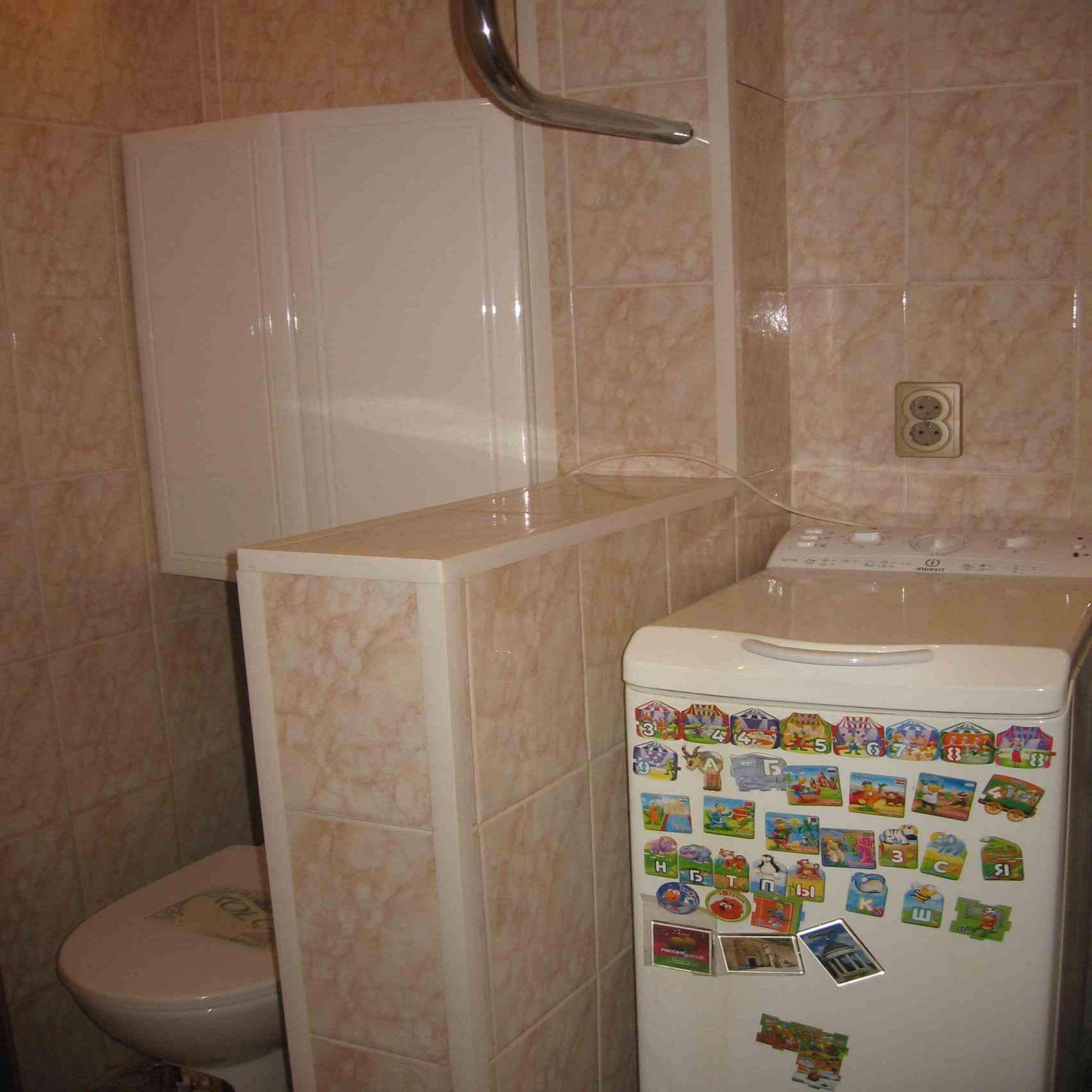 Установка гипсовой перегородки между ванной и кухней - Утро 57
