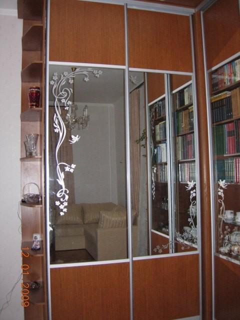 Декор для зеркала шкафа купе своими руками 798