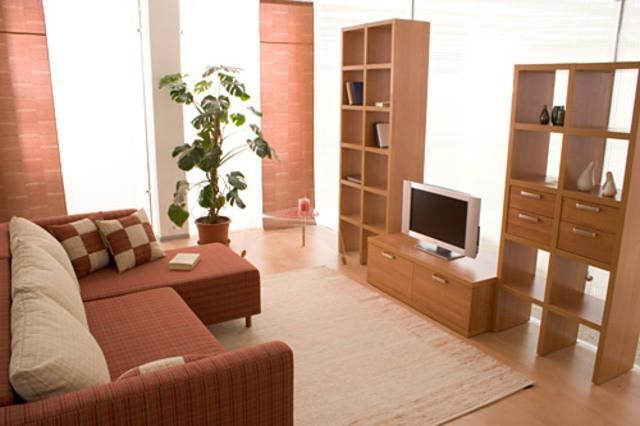 Интерьер в квартире зал