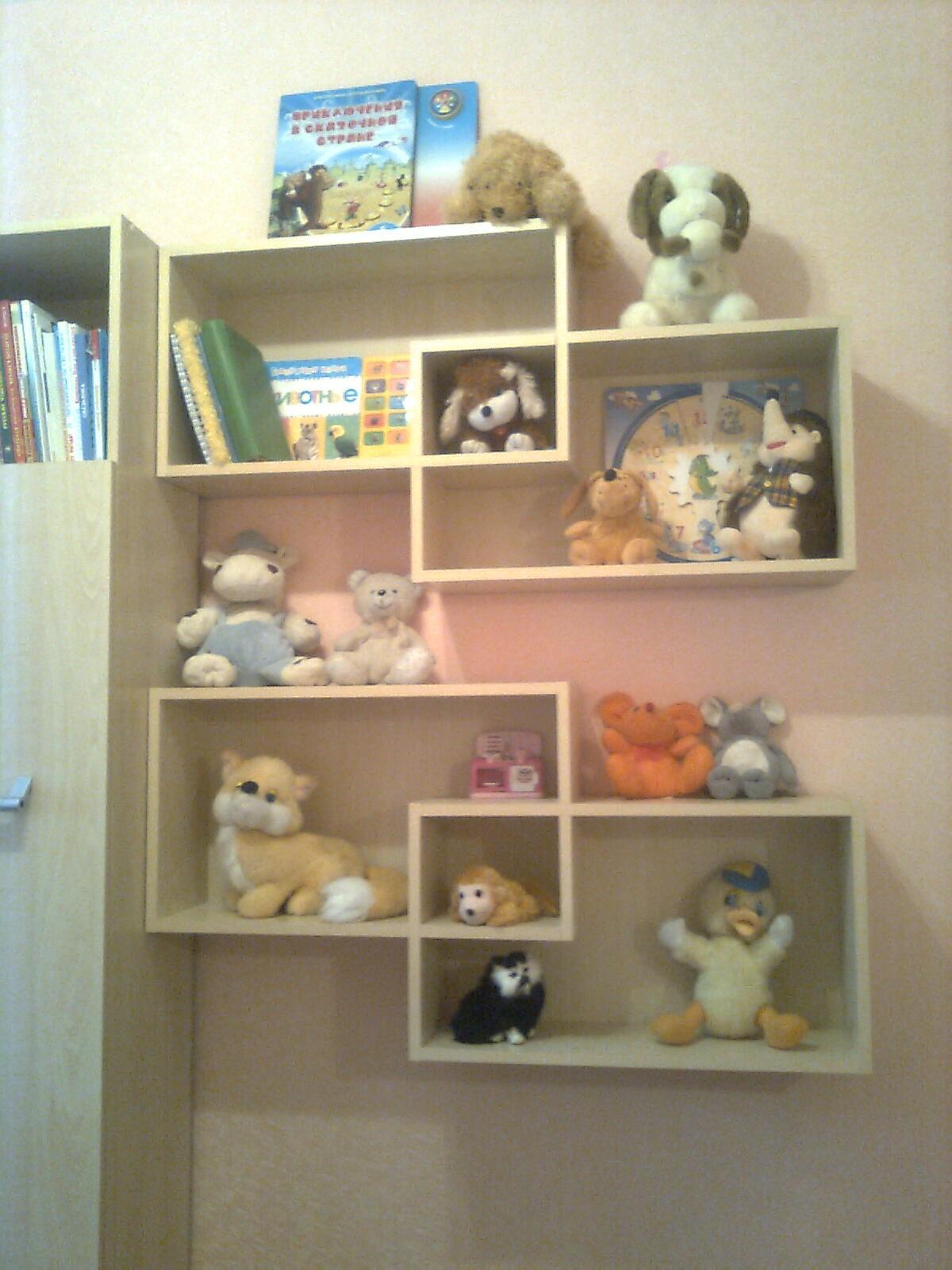 Полки для игрушек фото