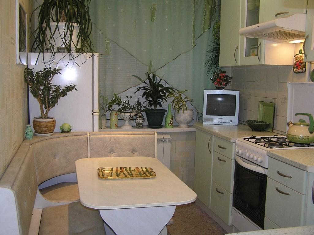 Планування кухні площею 9 квадратних метрів: фото Інтер'єр к.