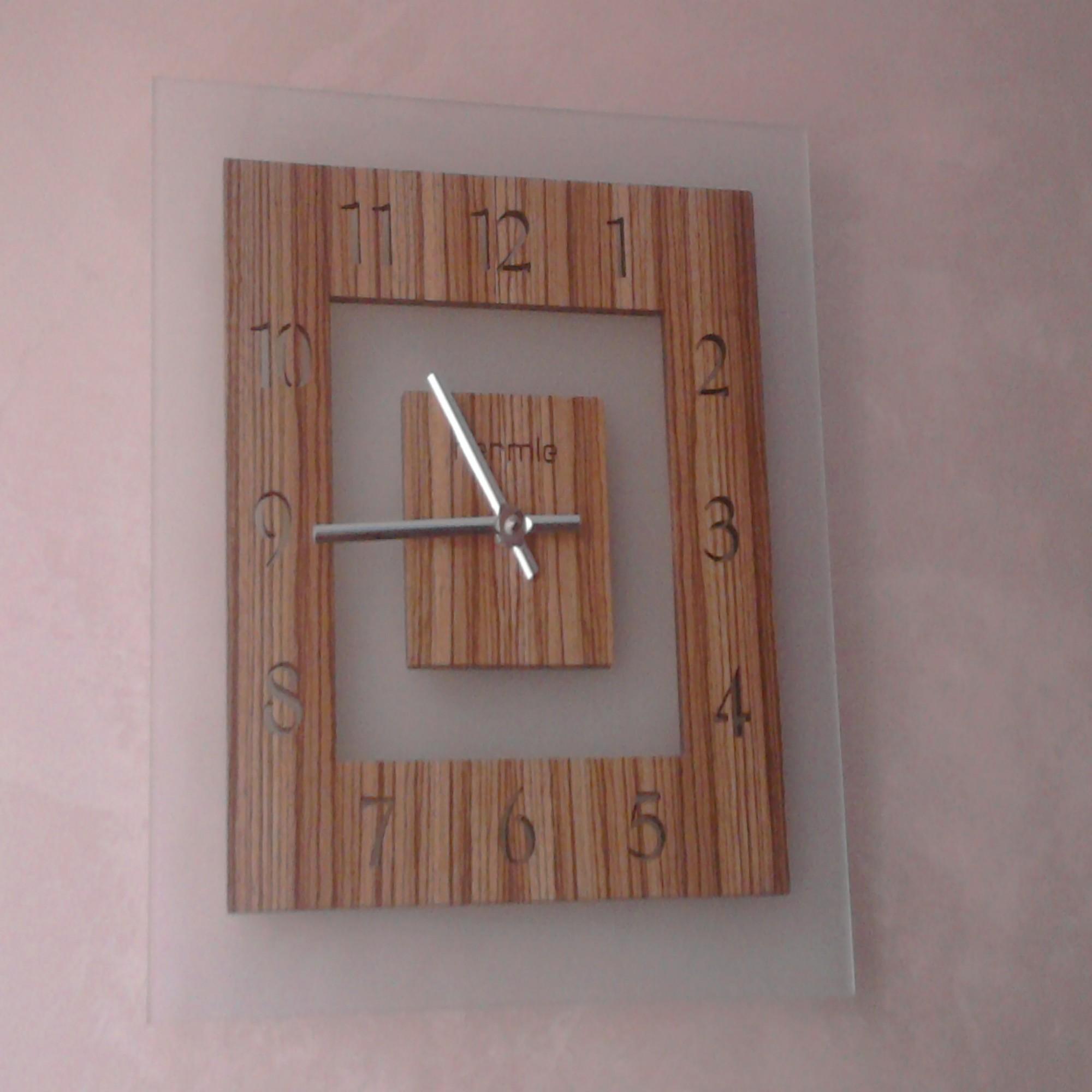 Часы настенные своими руками из дерева