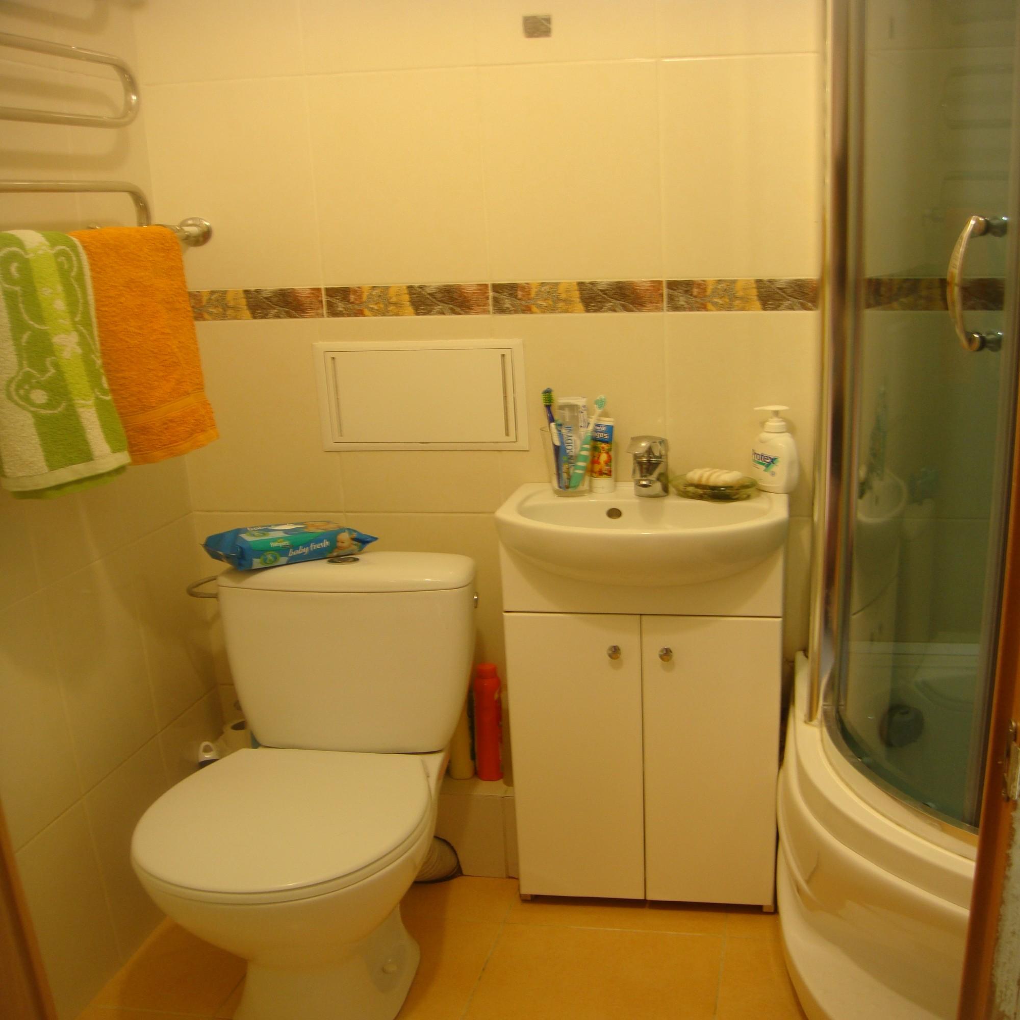 Дизайна простых ванных комнат