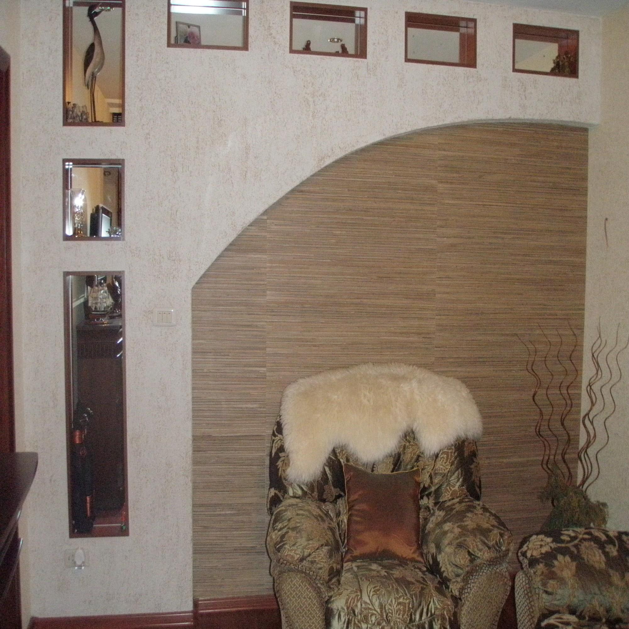 Дизайн ниши в стене фото
