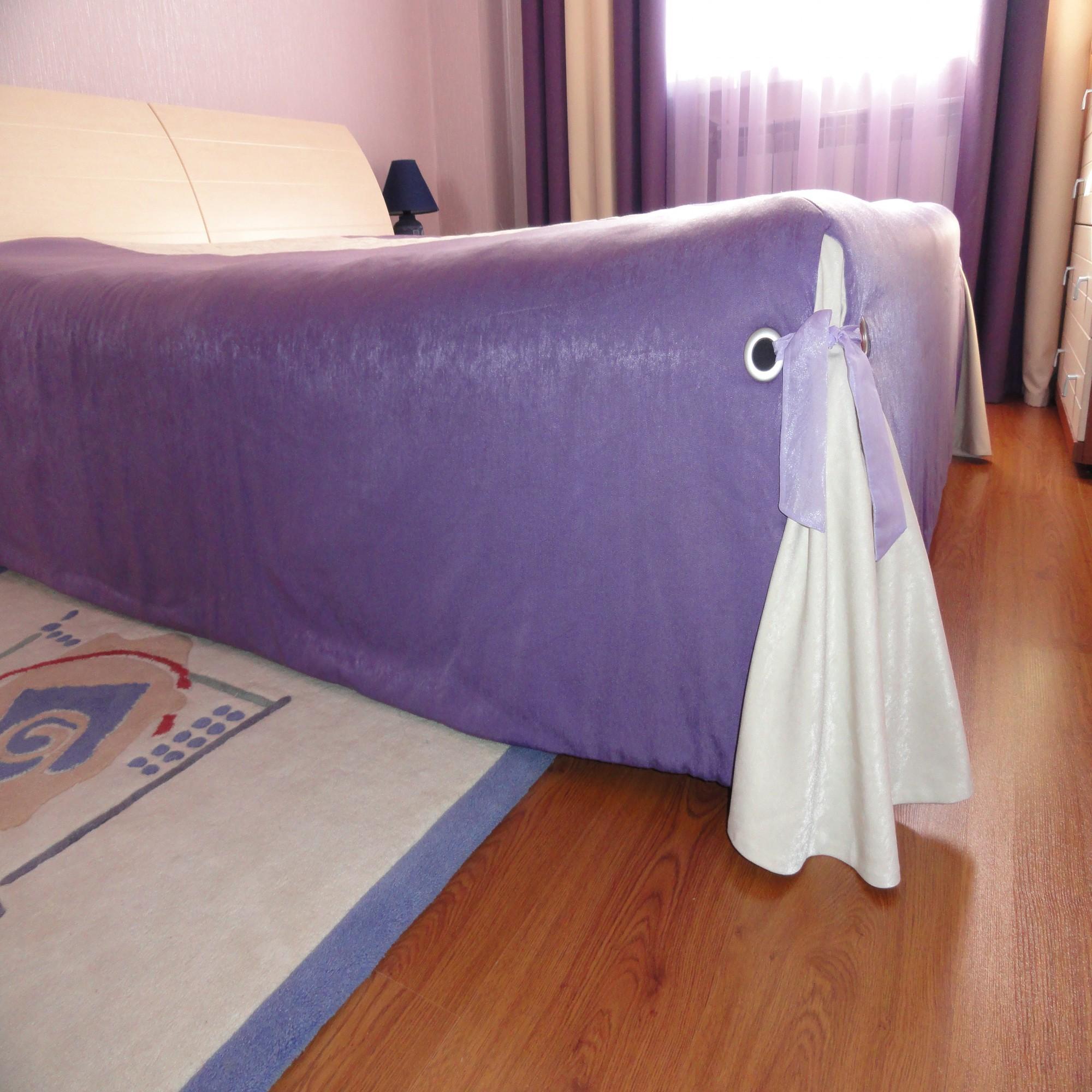 Из чего можно сшить покрывало для кровати 511