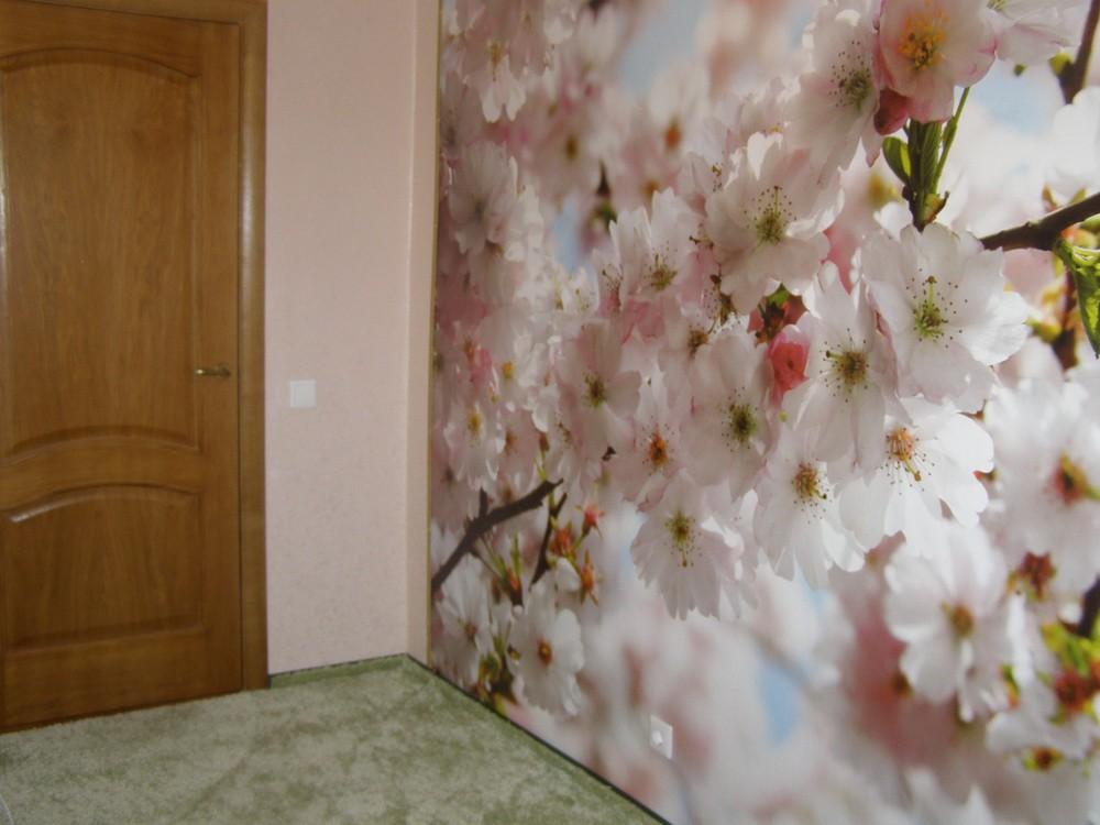 Дизайн комнаты разными обоями фото