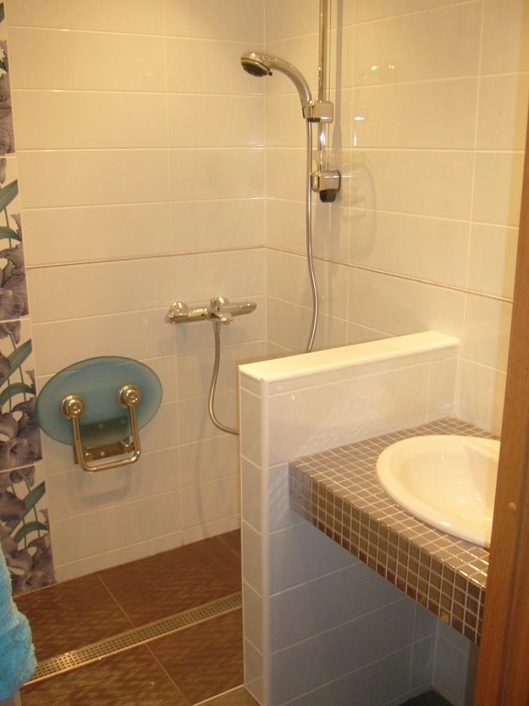 Как из туалета сделать душевую кабину и туалет 393