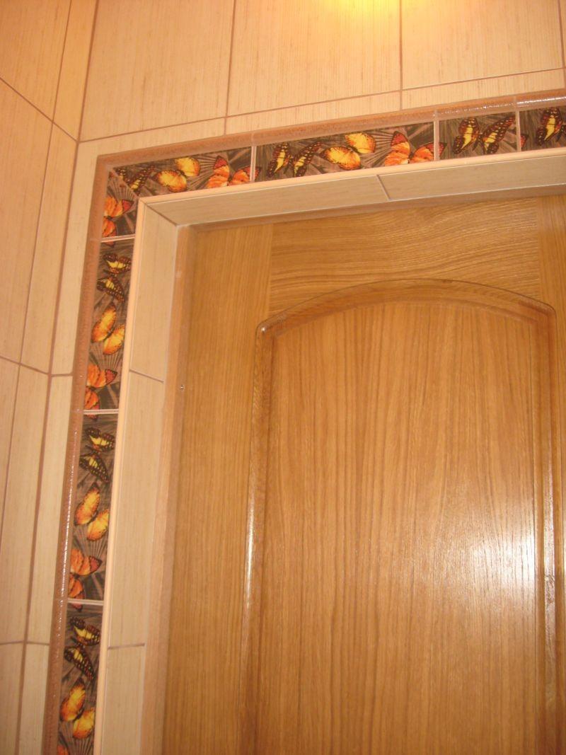 Как сделать обрамление для дверей 844