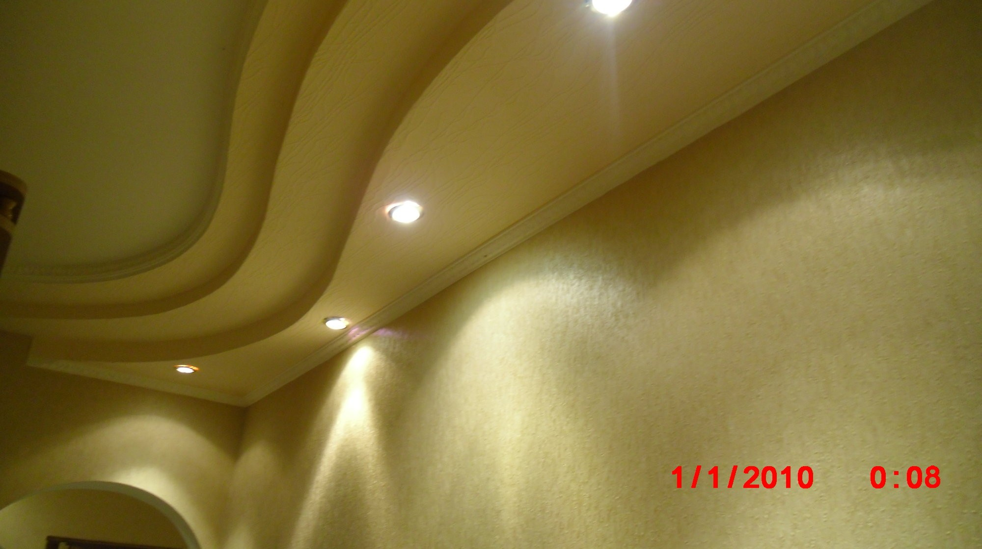 Потолок в прихожей своими руками