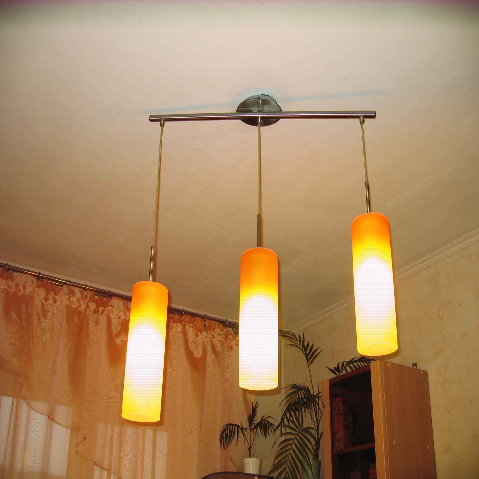 Ассиметричный светильник.