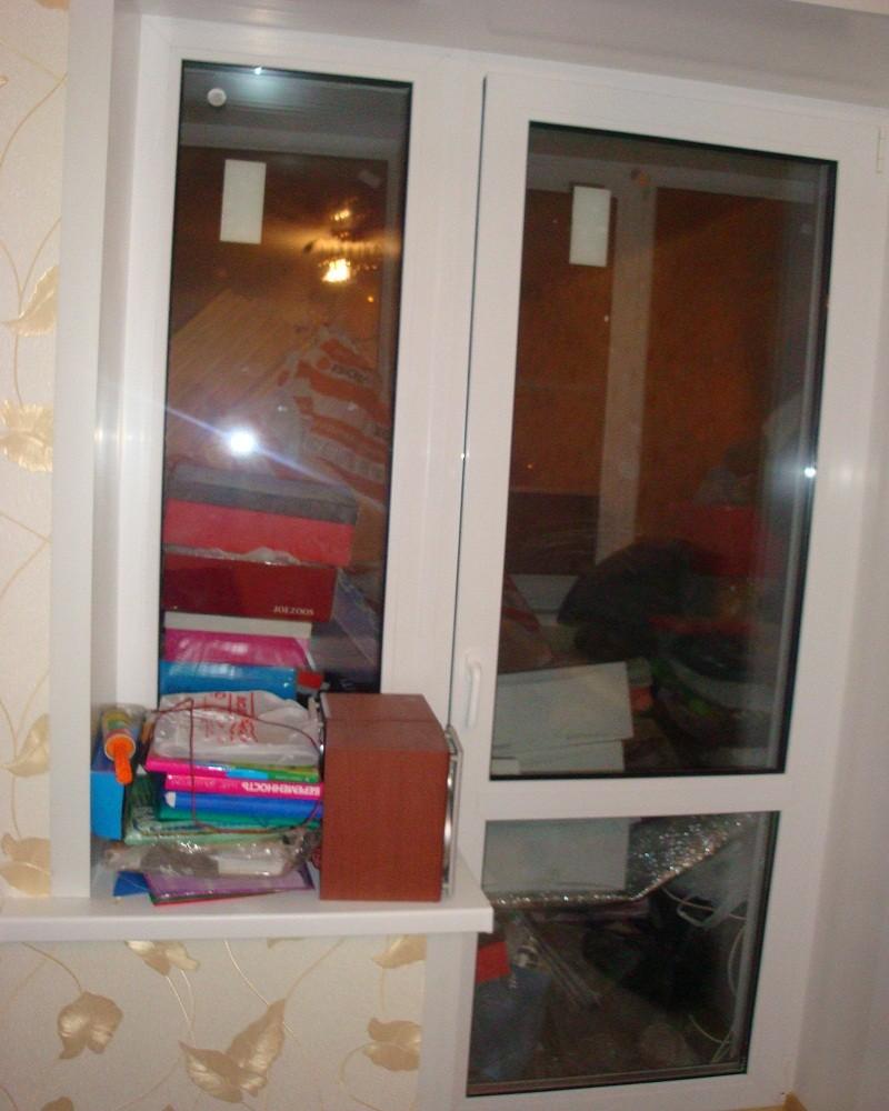 Фото двери на лоджию.
