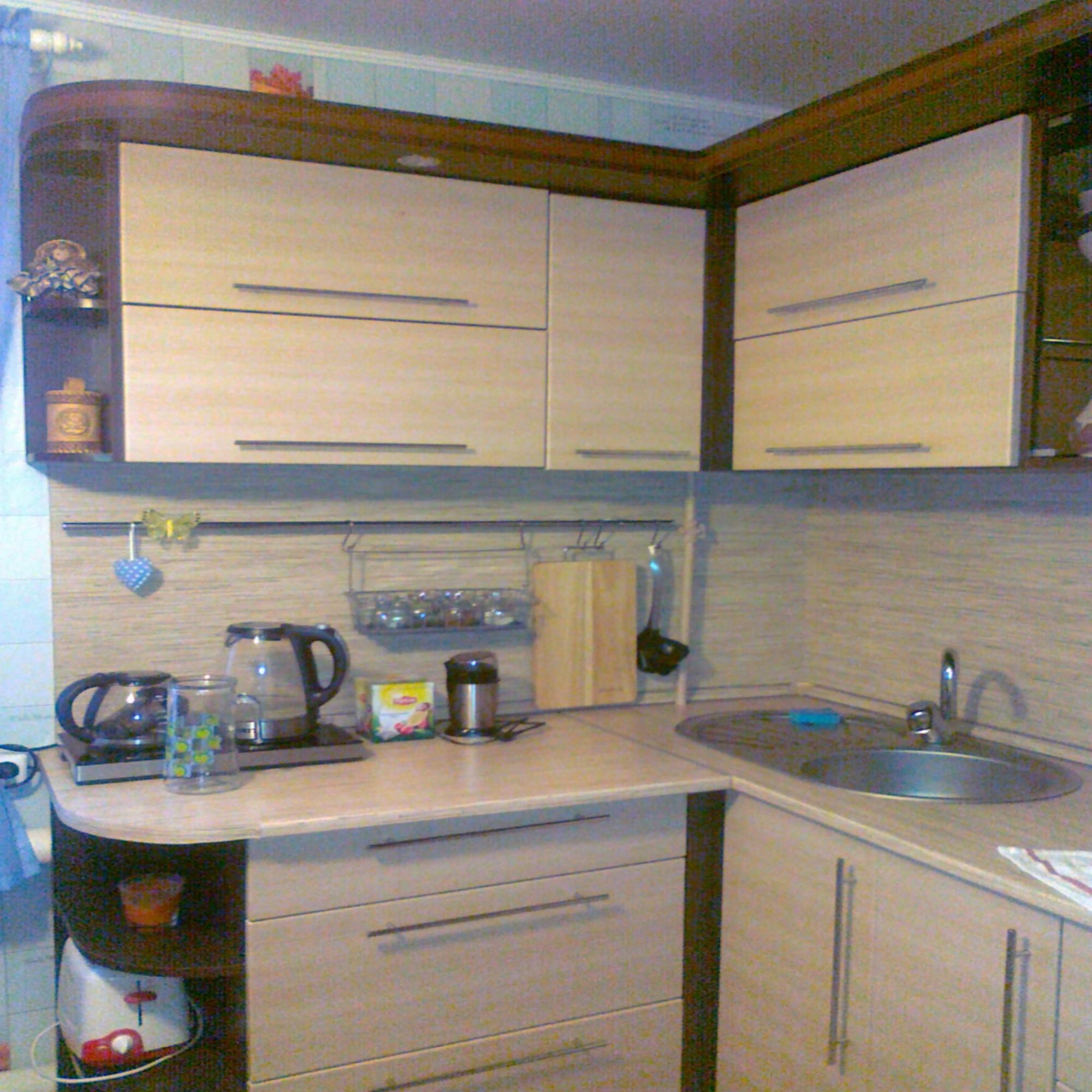 Навесные шкафы кухонный гарнитур своими руками6