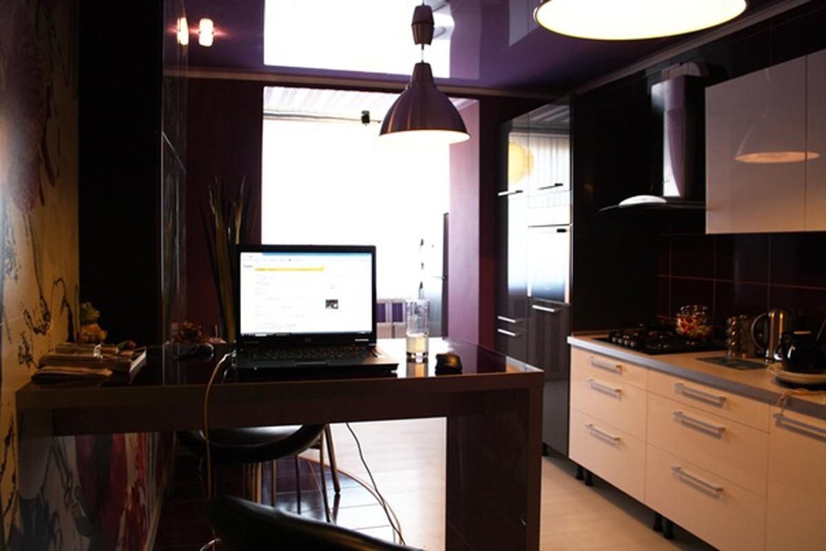 кухни в фиолетовых тонах в Москве