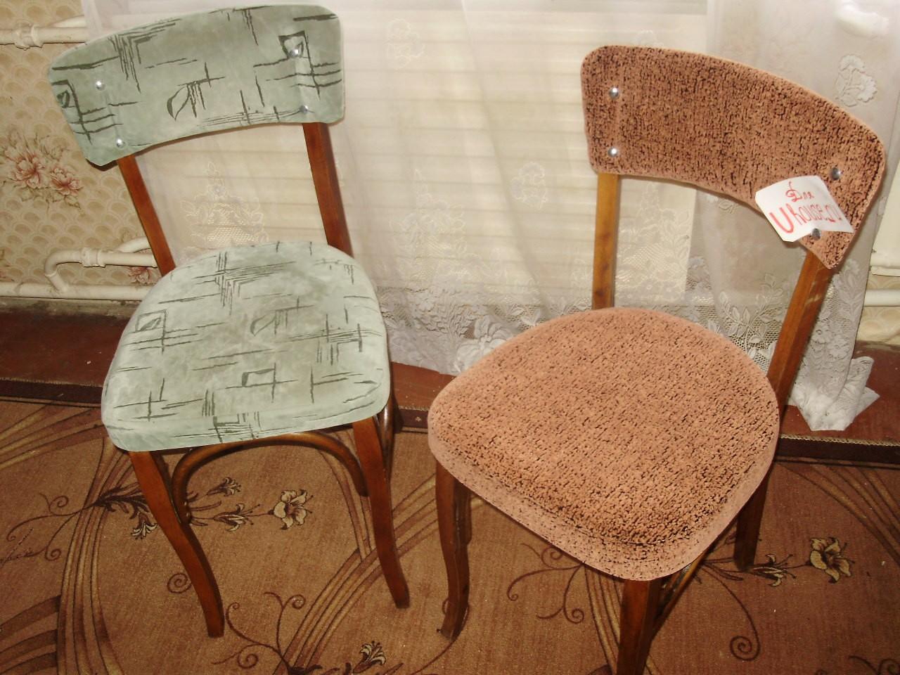 Декупаж старого стула своими руками до и после фото