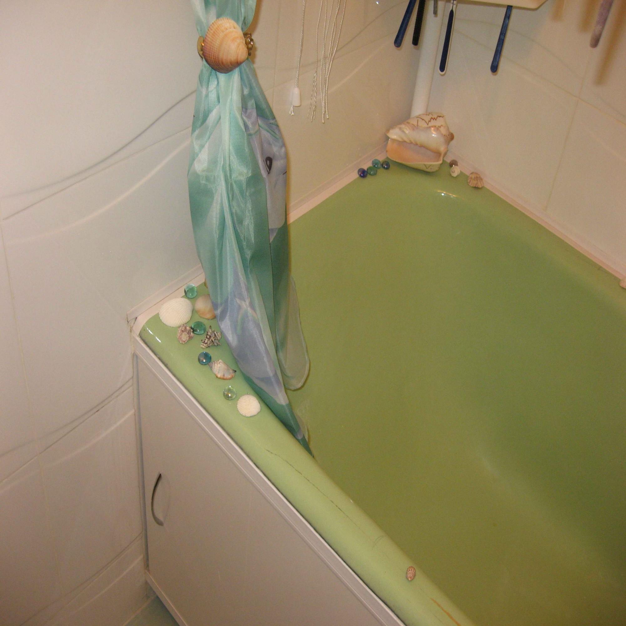 Шторка под ванную: виды, выбор и монтаж своими руками 58