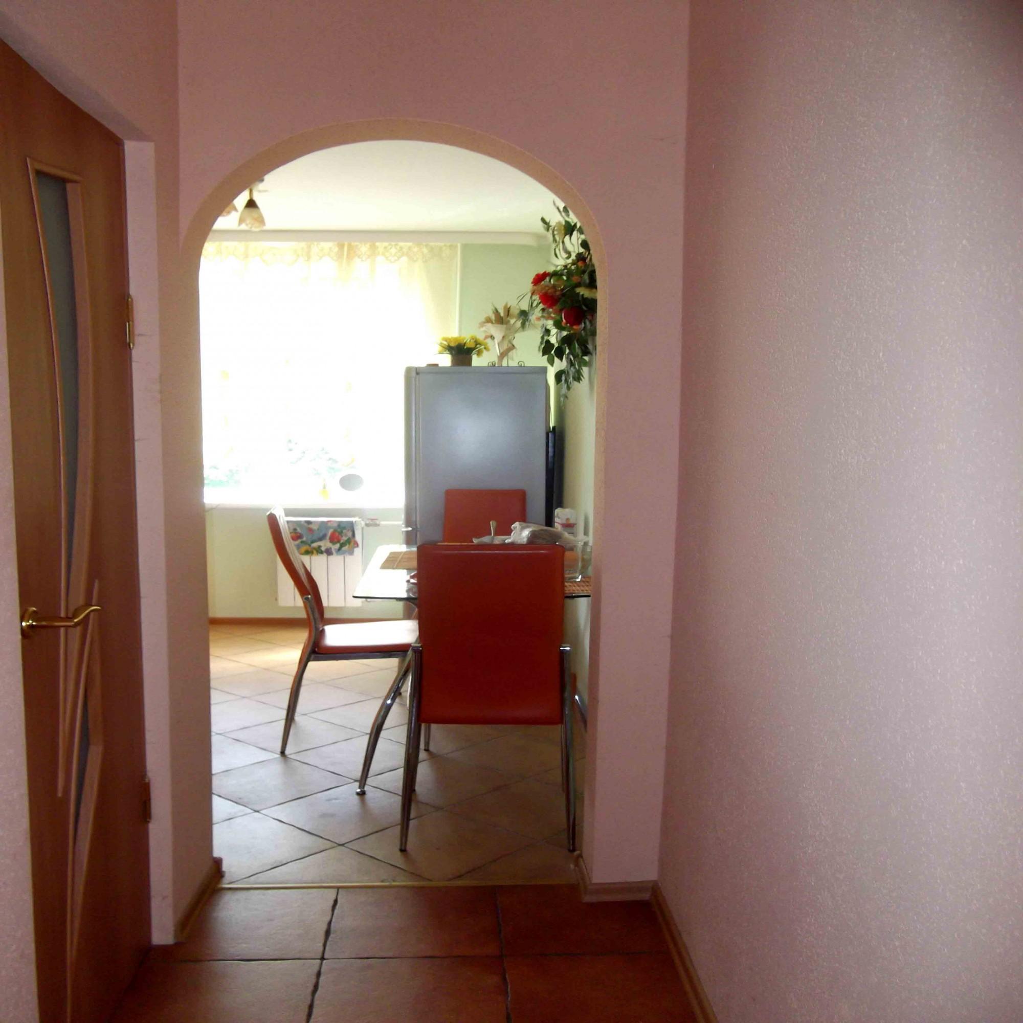 Арка на кухню вместо двери фото