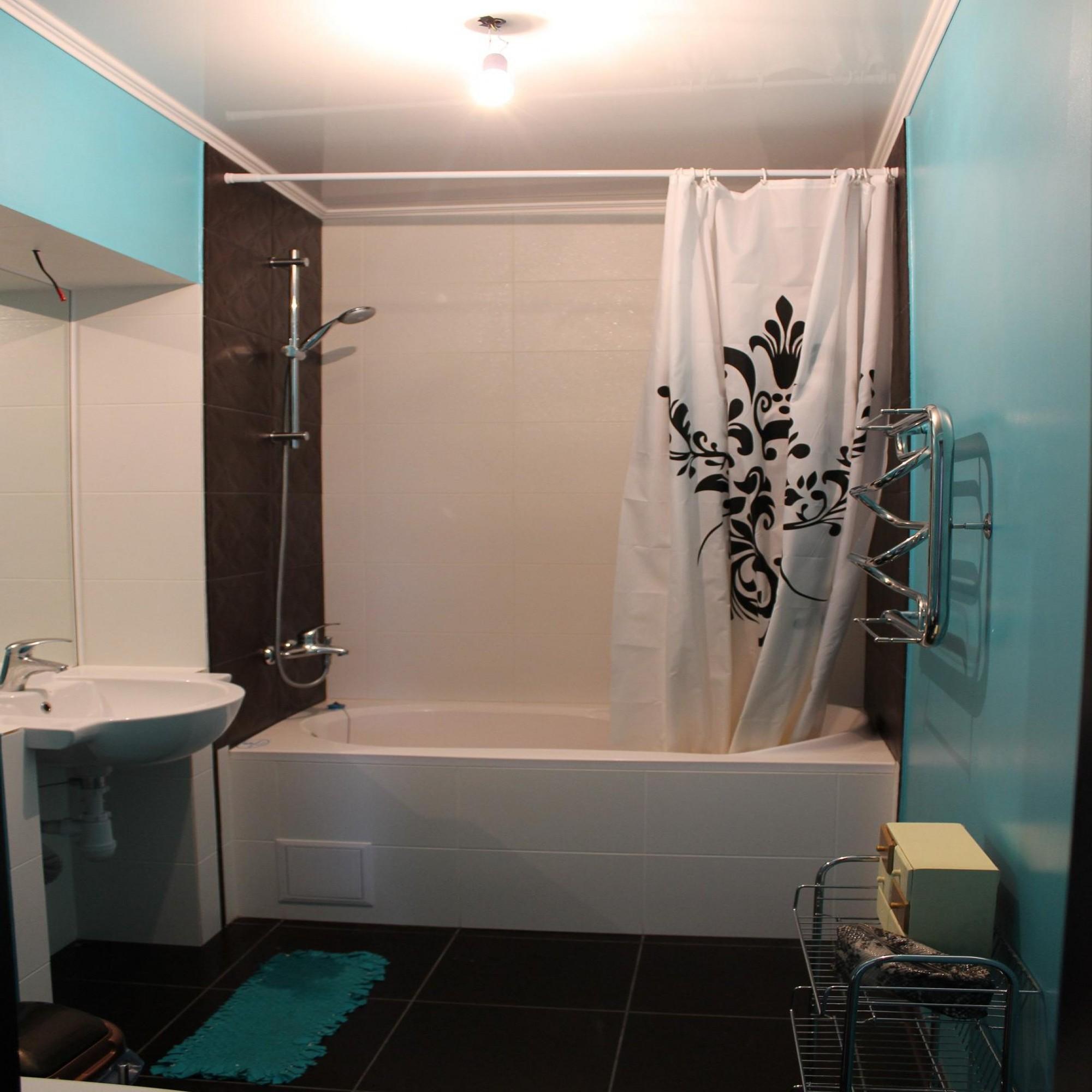Цветовое решение ванной комнаты фото