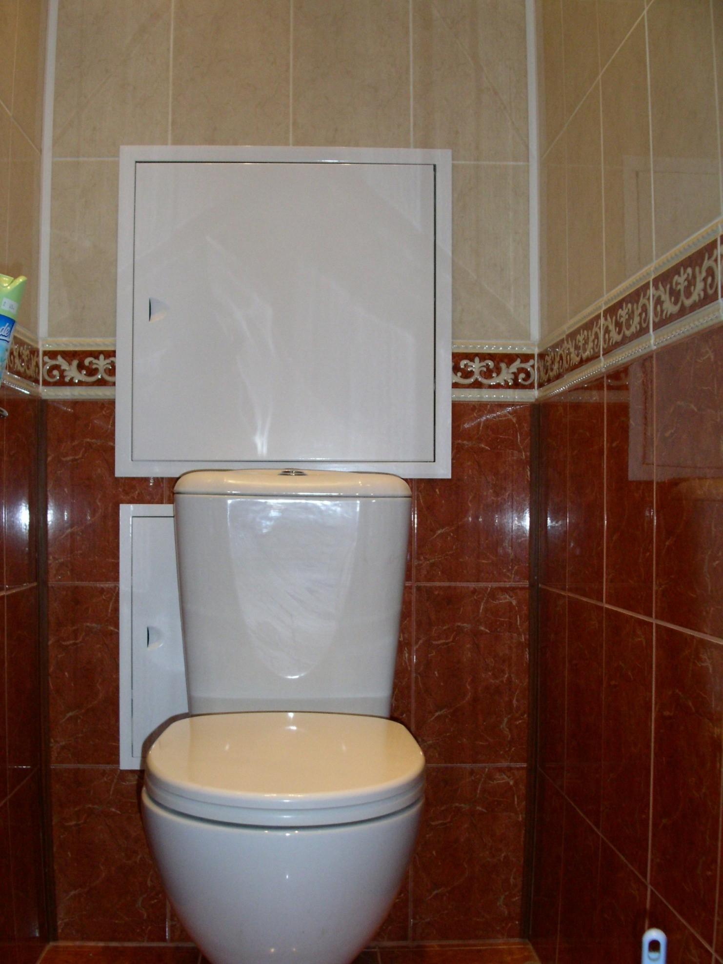 Туалет ванная своими руками