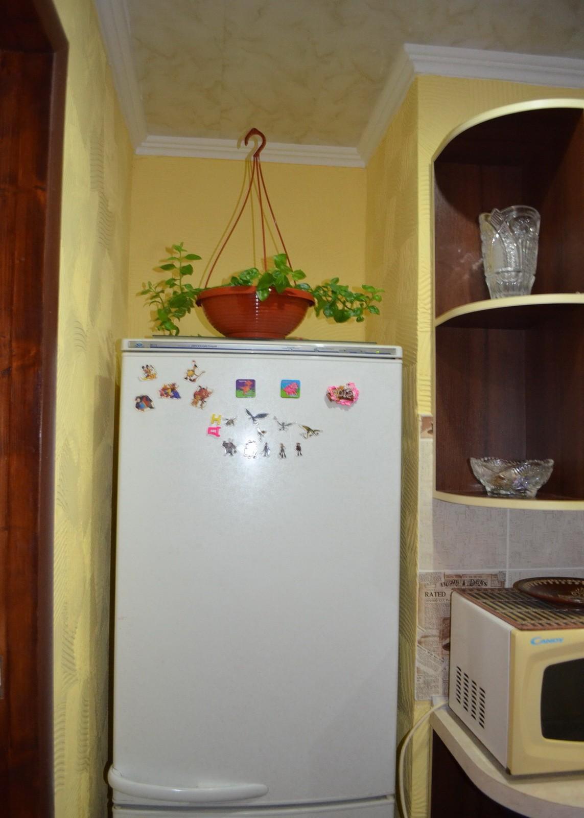 Холодильник в нише