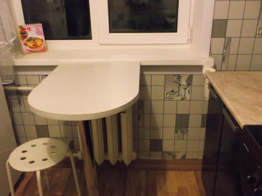 "Не просто подоконник "" кухня 5 квадратов "" квартиры, фото кв."