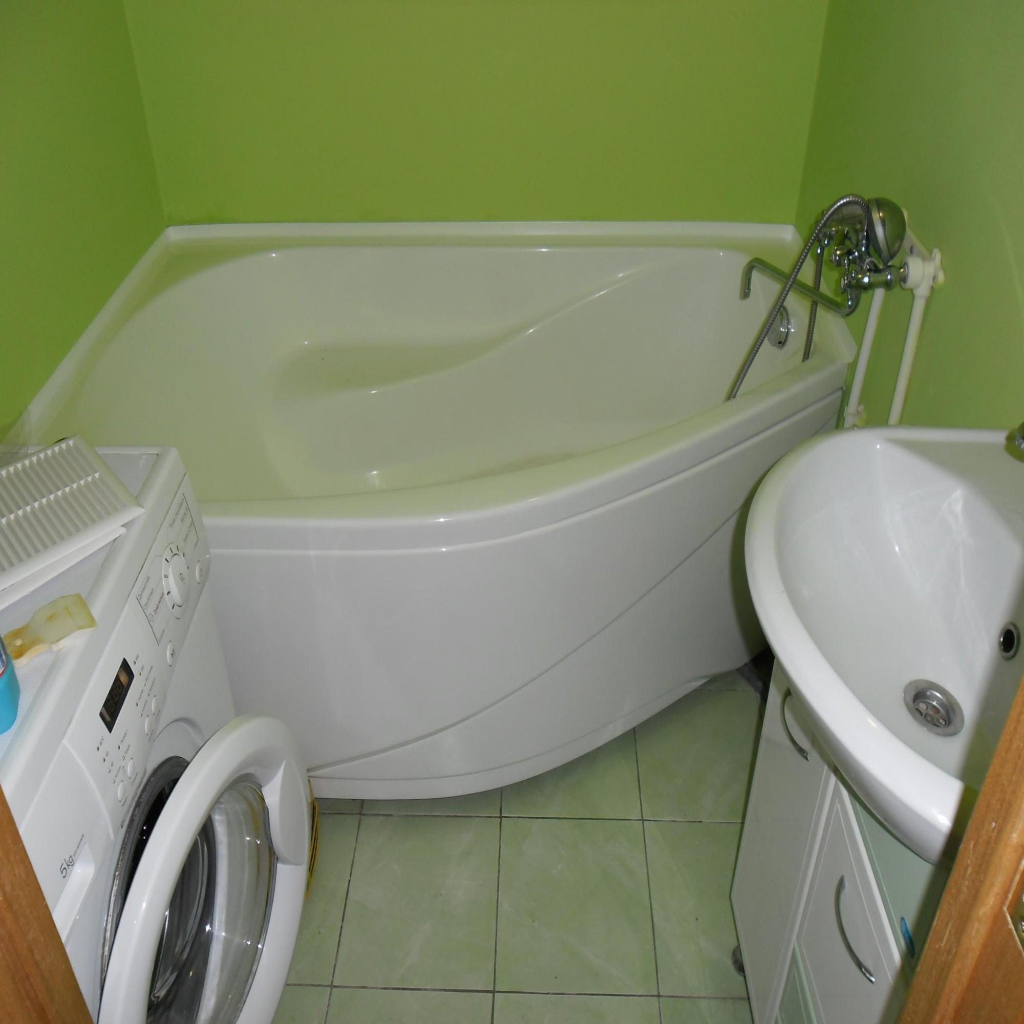 Маленькая ванная комната 29