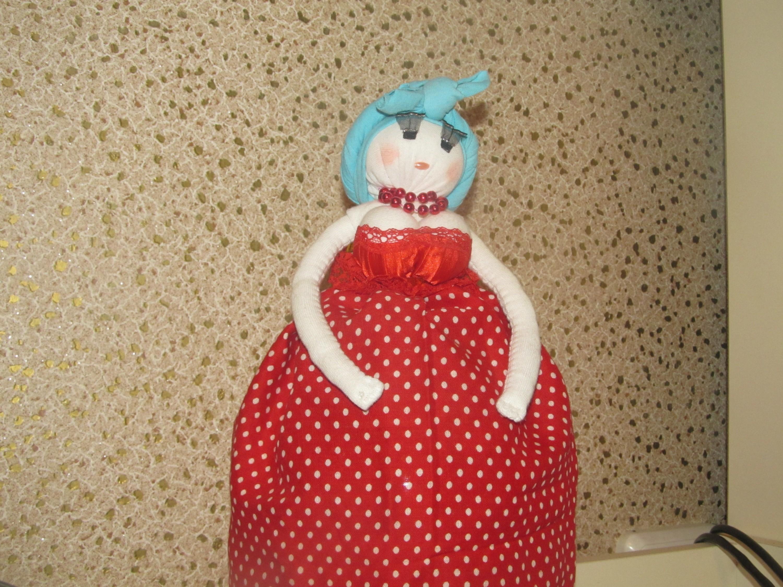 Как из подручных средств сделать куклу для  169
