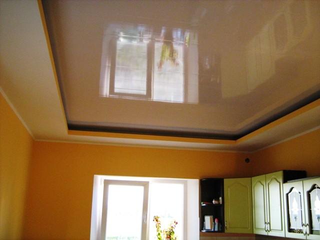 Дизайн потолков из панелей пвх в зале