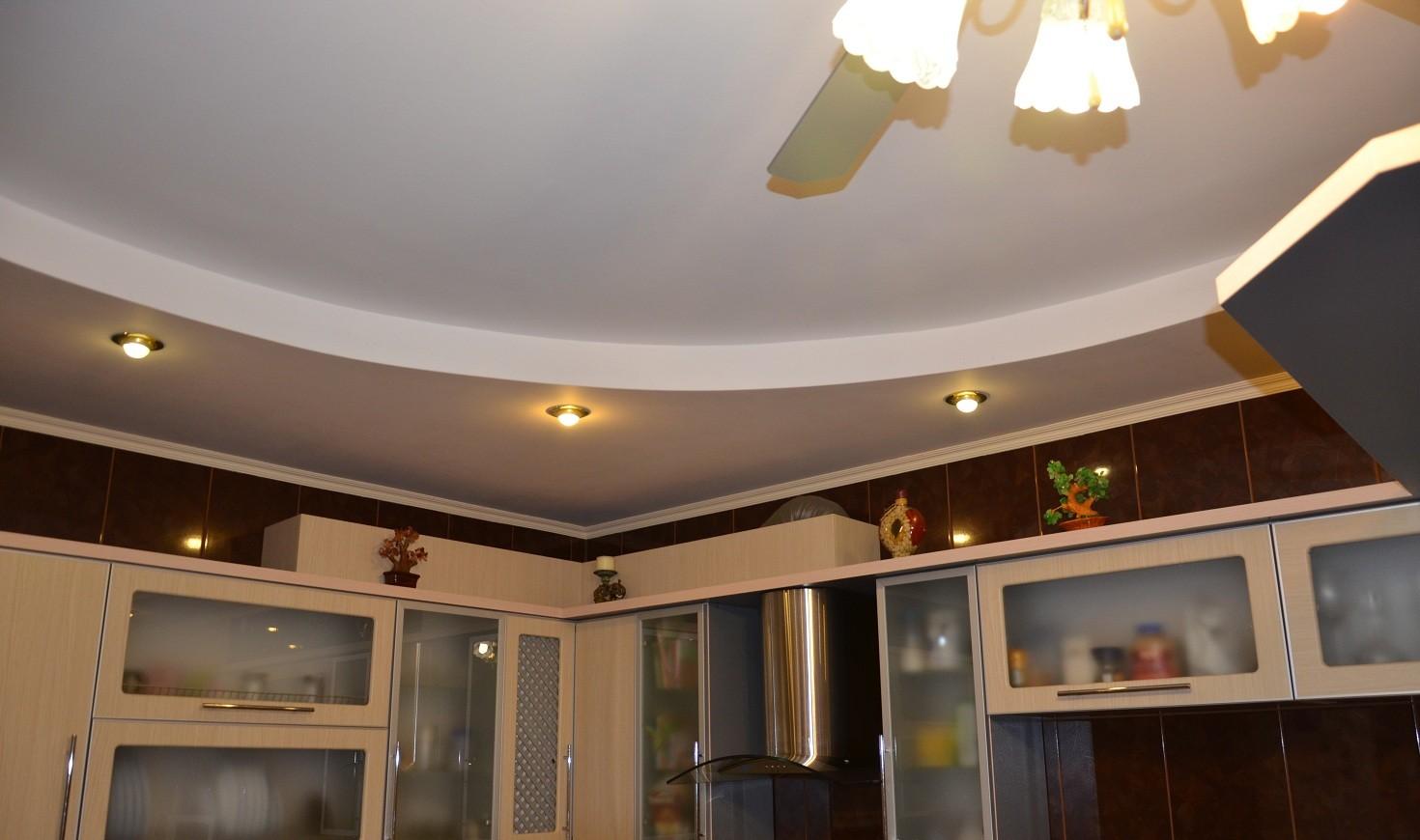 Подвесные потолки для кухни: монтаж своими руками 57