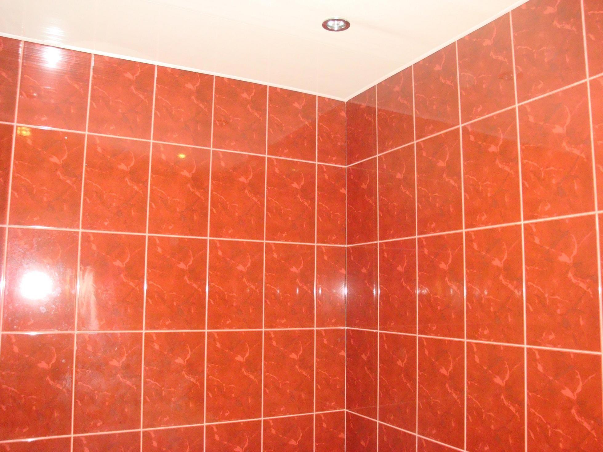 Плитка в ванную комнату была выбрана