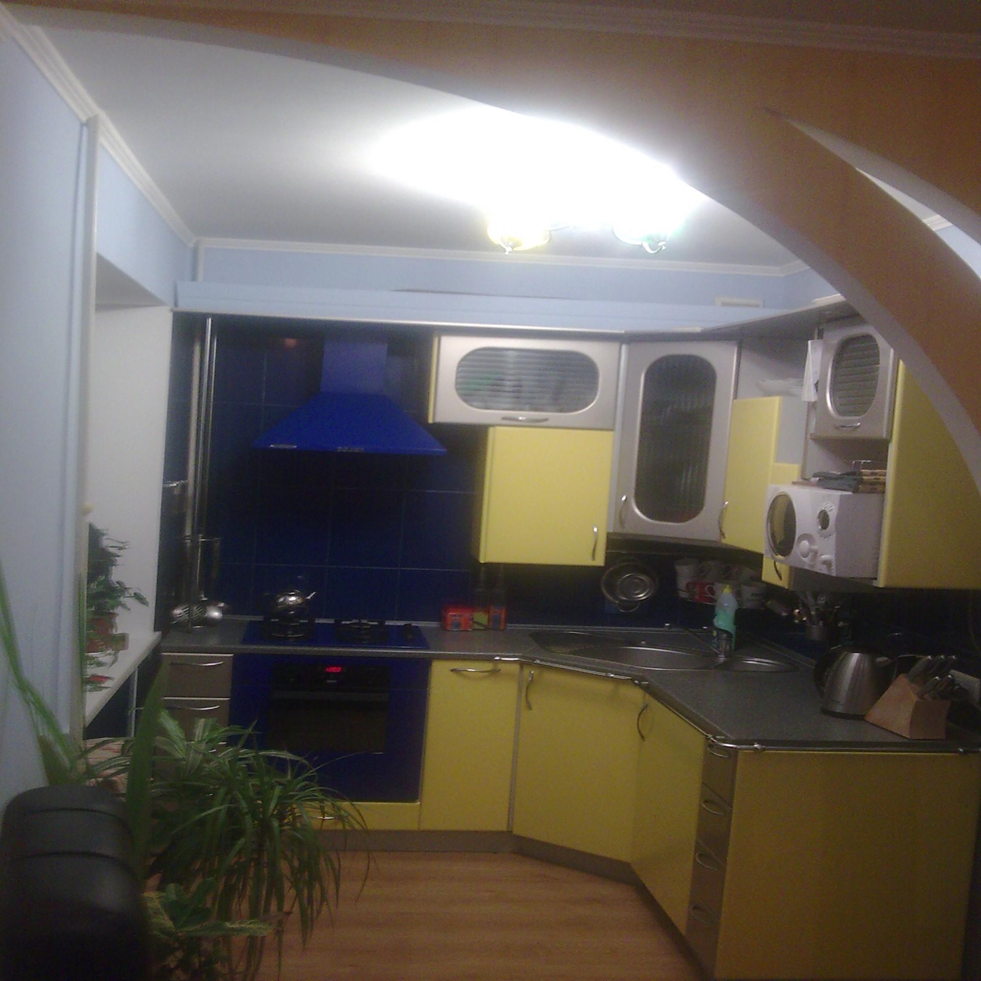 Вот так выглядит наша маленькая кухня