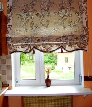 Ршить шторы самостоятельно, пошив штор, сшить римские шторы.