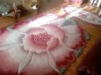 Гостиная в бордовом цвете