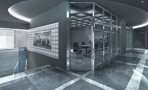 Современный дизайн офисного помещения