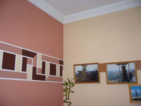 варианты покраски стен фото Малярные работы фото.