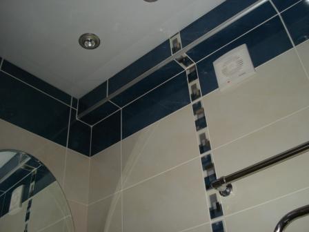 Отделка ванной комнаты и туалета.