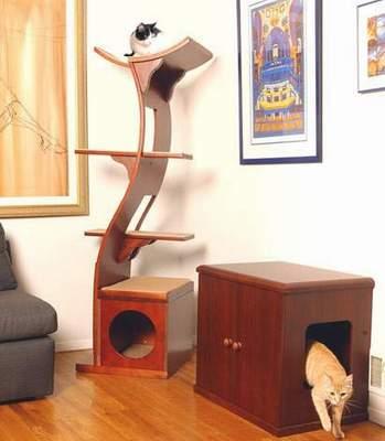Дом для кошки своими руками.