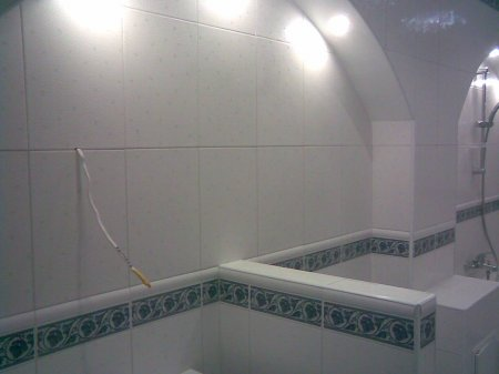 Перегородки в ванной комнате фото 13