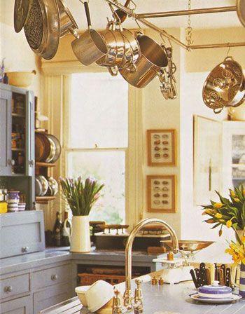 Дизайн кухни, кантри стиль.