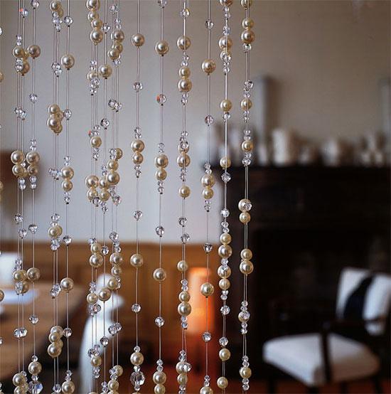 Шторы из бусин : Идеи для вашего дома