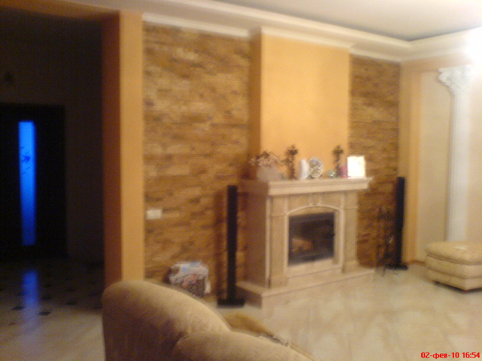 Ремонт камин в квартире