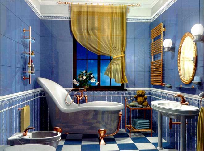 Детская ванная комната универдом