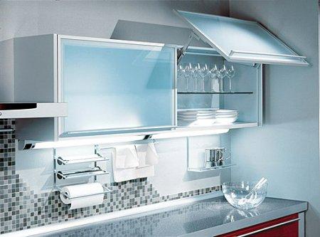 Дизайн и интерьер кухни в стиле Hi-Tech.
